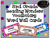 3rd Grade Reading Vocabulary High Frequency Word Wall