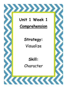 3rd Grade Reading WONDERS Skill Signs Chevron Theme