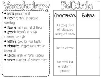 3rd Grade Reading Wonders Interactive Notebook-Unit 4