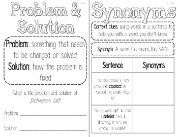 3rd Grade Reading Wonders Interactive Notebook-Unit 3