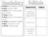 3rd Grade Reading Wonders Interactive Notebook-Unit 3