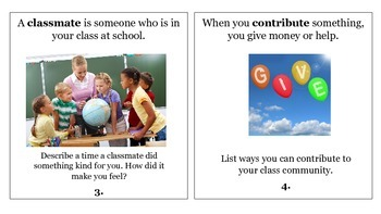 3rd Grade Reading Wonders Unit 1 Week 3 Vocabulary Task Cards