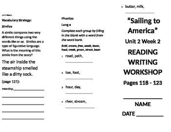 3rd Grade Reading Wonders Unit 2 Bundle