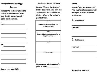 3rd Grade Reading Wonders Unit 2 Week 4
