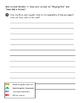 3rd Grade Reading Wonders Weekly test -unit 1 week 1 bubble answer sheet