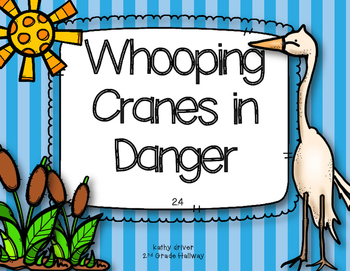 3rd Grade Reading Wonders Whooping Cranes in Danger {10 Literacy Activities}