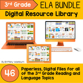 3rd Grade Reading and Language Digital Resource Library BUNDLE