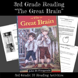 3rd Grade Reading and Literacy: The Great Brain