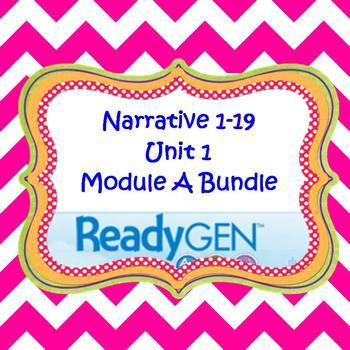 3rd Grade Ready Gen Unit 1 Module A 2015-2016 Edition