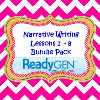 3rd Grade Ready Gen Writing Lesson Plan Bundle 1-8
