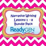 3rd Grade Ready Gen Writing Lesson Plan Bundle 1-8