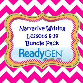 3rd Grade Ready Gen Writing Lesson Plan Bundle #6-19