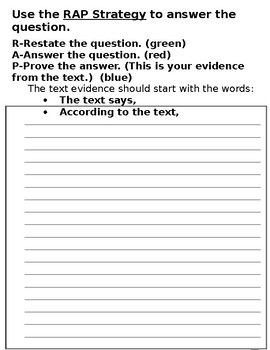 3rd Grade Ready Louisiana Lesson 12: Central Message Writing Practice
