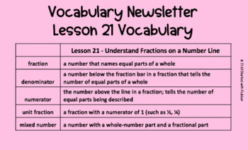 3rd Grade Ready Math Vocabulary Cards - CA Scope and Sequence