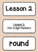 3rd Grade Ready Math Vocabulary Cards COMMON CORE Scope & Sequence