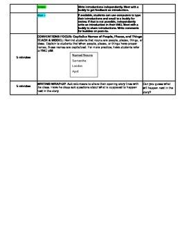 3rd Grade ReadyGEN WRITING Unit 2 Module A Lesson #3