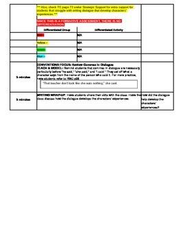 3rd Grade ReadyGEN WRITING Unit 2 Module A Lesson #8