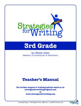 Response to Literature 3rd grade Common Core Writing Lady Shelle Allen