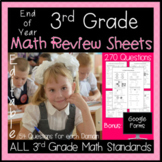 3rd Grade Math Test Prep - Distance Learning - Google Forms