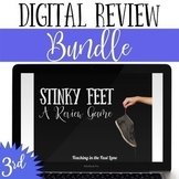 3rd Grade Math Review Game Stinky Feet Bundle