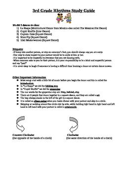 3rd Grade Rhythms Unit