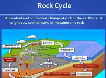 3rd Grade Rocks & Soils/Fossils Powerpoint PPT S3E1 S3E2