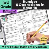 3rd Grade Rounding, Addition & Subtraction - 3.NBT.1 - 3.NBT.3