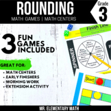 Rounding Games and Centers 3rd Grade