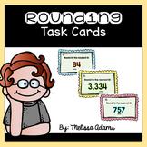 3rd Grade Rounding Task Cards: Harder Set