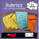 3rd grade Rubrics for Writing Workshop
