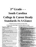 3rd Grade SC College & Career Ready Standards