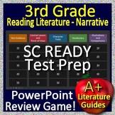 3rd Grade SC READY Test Prep Reading Literature and Narrative Skills Review Game