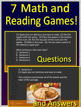3rd Grade SC Ready Math and Reading Bundle - Practice Tests and Games SCPASS