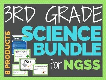 3rd Grade SCIENCE Bundle - NGSS