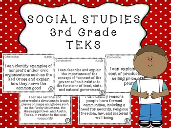 3rd grade social studies teks by for the love of apples tpt 3rd grade social studies teks stopboris Choice Image