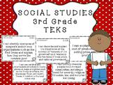3rd Grade SOCIAL STUDIES TEKS