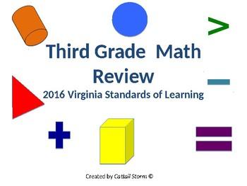 3rd Grade SOL Math Review