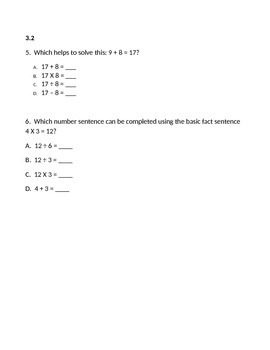 3rd Grade SOL Practice Test (40 Questions)