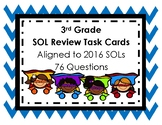 3rd Grade SOL Review Task Cards UPDATED 2016 SOLs