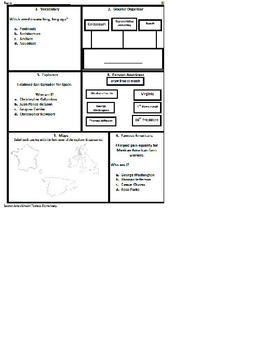 3rd Grade SOL Social Studies Spiral Review #16