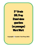 3rd Grade SOL prep - Stand alone questions