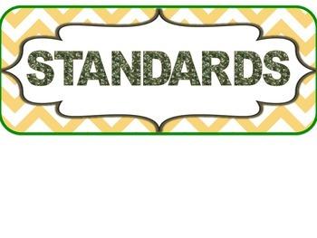 3rd Grade SOUTH CAROLINA Camo Standards