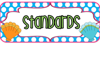 3rd Grade SOUTH CAROLINA Ocean Standards 2