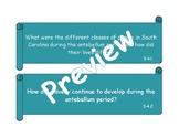 3rd Grade SS: 3-4 Civil War and Reconstruction Essential Q