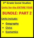 3rd Grade Social Studies - Units for Year PART 2