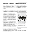 3rd Grade STAAR Informational Passage - Book Review Diary of Wimpy Kid