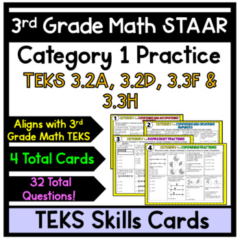 3rd Grade STAAR Math- Category 1 Review