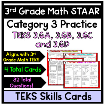 3rd Grade STAAR Math Reporting Category 3 Review