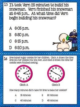 3rd Grade STAAR Math Task Cards - Set 4