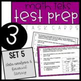 3rd Grade Math TEKS Task Cards - Set 5
